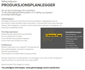 Produksjonsplanlegger_Glomma_Papp_AS